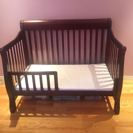 Used, Baby crib and baby mattress in great... for sale  Canada