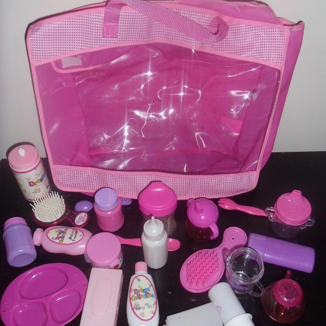 Baby Doll Diaper Bag With Everything You Need To Take Care Of Your