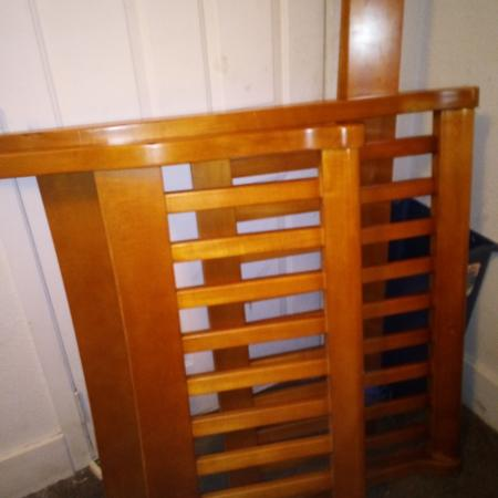 Twin Sleigh Bed Frame