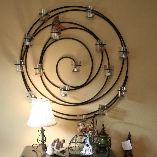 Pottery Barn Metal Spiral Tea Candle Holder This Comes With Gl Votive