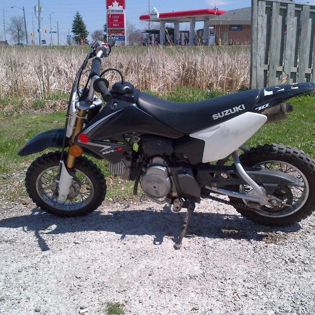 Best Suzuki 70cc Dirtbike 4 Stroke For Sale In Stouffville Ontario