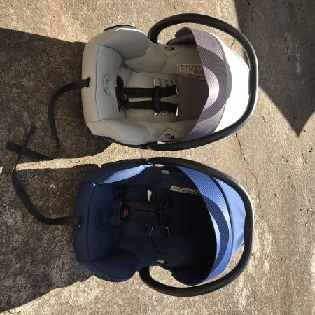 a5efb77ad72 Maxi-Cosi Mico Max 30 infant carseats(2) with 4 bases.