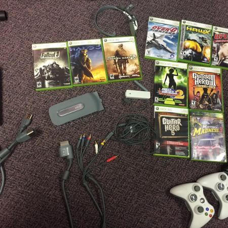 Used, Xbox 360 games, controllers, power... for sale  Canada