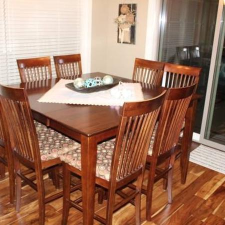 a6bfed7f25c5 Counter height Table   8 Chairs