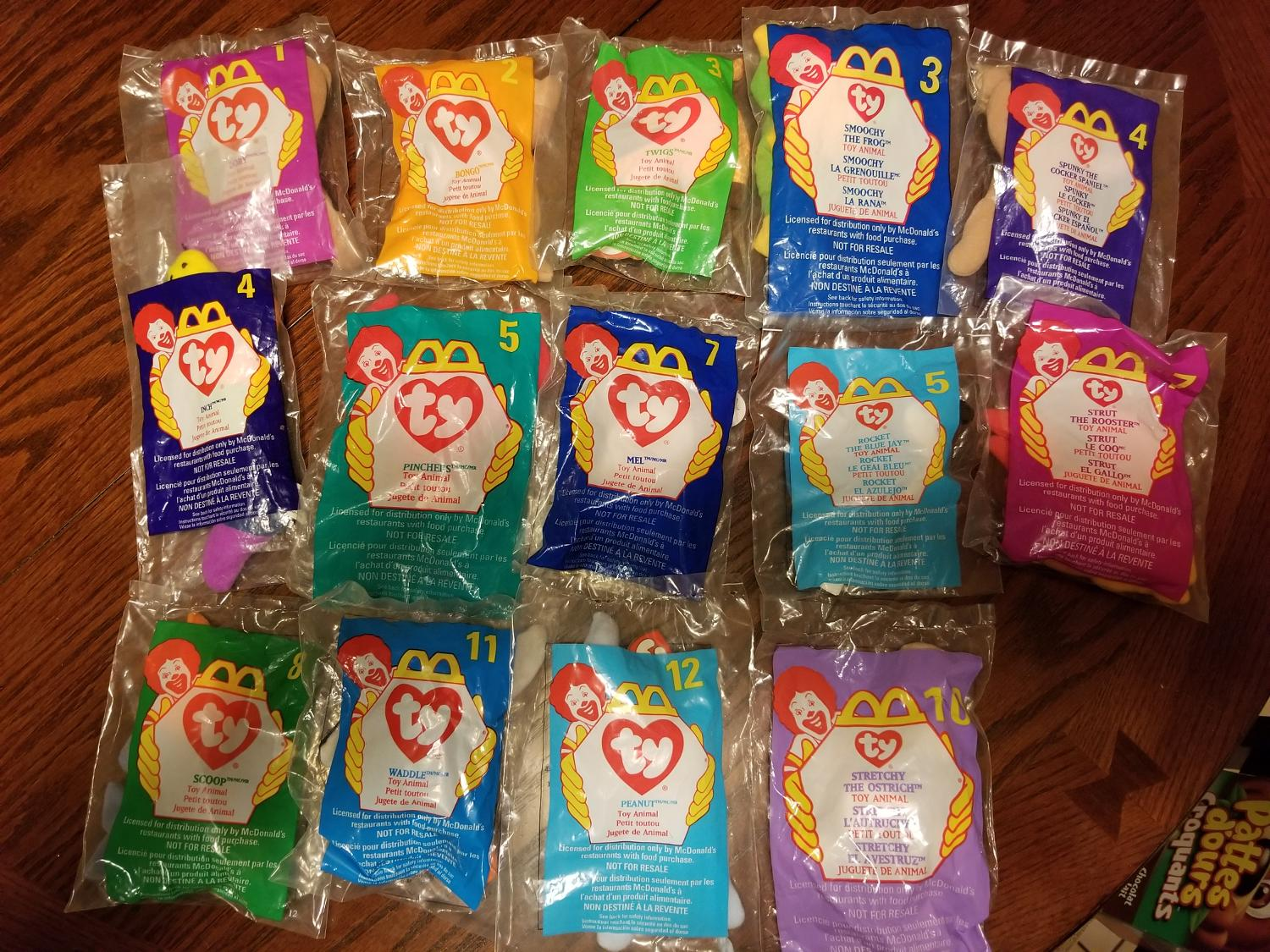Best Mcdonalds Ty Beanie Babies For Sale In Clarington