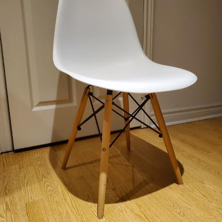 Fs: Brand New Eames chair's *white* for sale  Canada