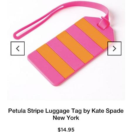 Kate spade New York silicone luggage tag for sale  Canada