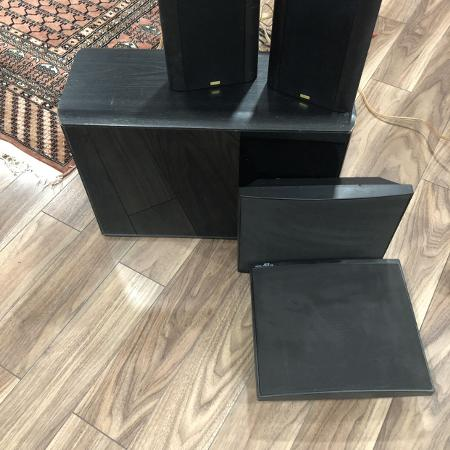 Jamo subwoofer and 4 surround sound... for sale  Canada
