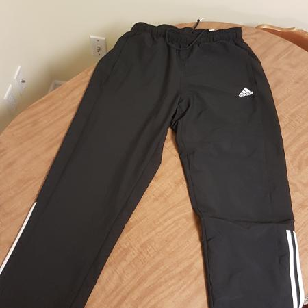 f7b6fddc4f9 Black Adidas athletic pants Size Large