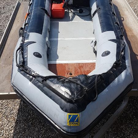 14Ft Zodiak with 40Hp Yamaha engine for sale  Canada