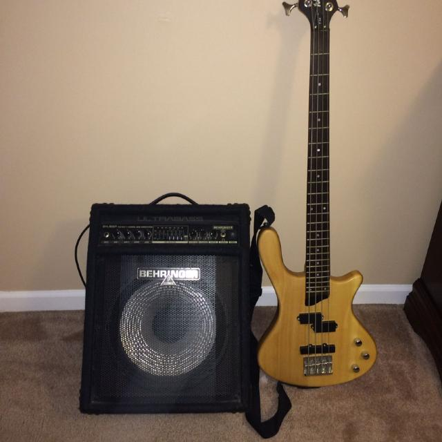 find more washburn bass guitar and behringer bass amp selling as a set for sale at up to 90 off. Black Bedroom Furniture Sets. Home Design Ideas