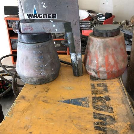 Used, Wagner electric spray painter, and a... for sale  Canada