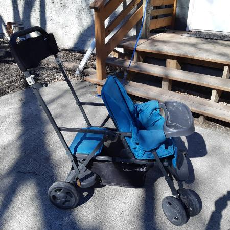 3d1e80b66eb Joovy ultralight Double Sit n Stand stroller