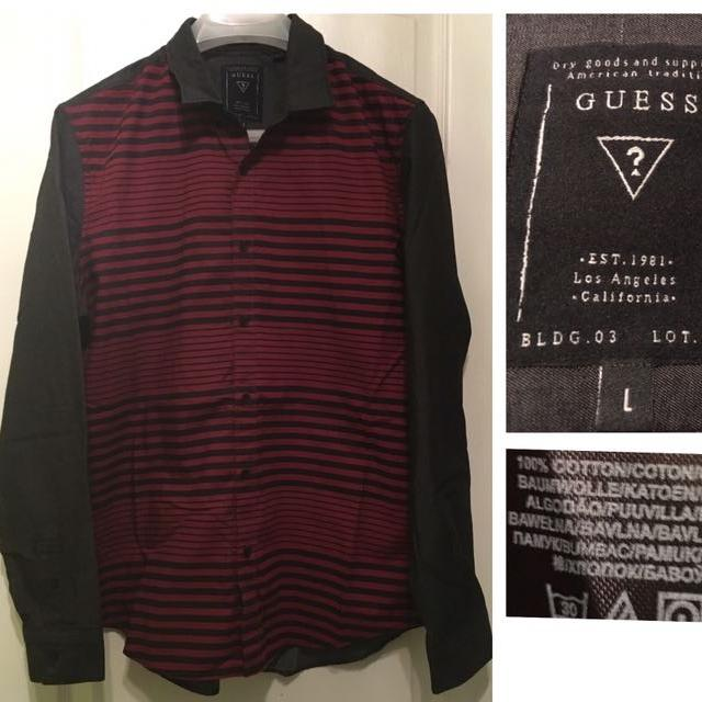 0ab229166178 Best Guess Size L Striped Shirt In Perfect Condition for sale in Dollard-Des  Ormeaux, Quebec for 2019