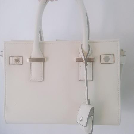 49ffcc83d66 *Reduced Price* Coach Round Coin Case. SMIRNASLI(サミールナスリ)- new white  leather bag