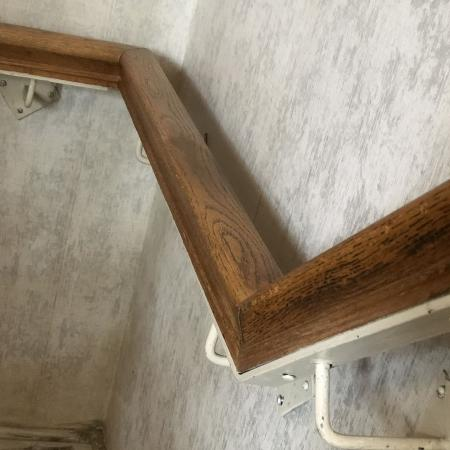 Numerous Pieces of Solid Oak Railing..., used for sale  Canada