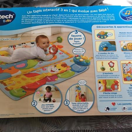 Vtech giggle and grow baby playmat for sale  Canada
