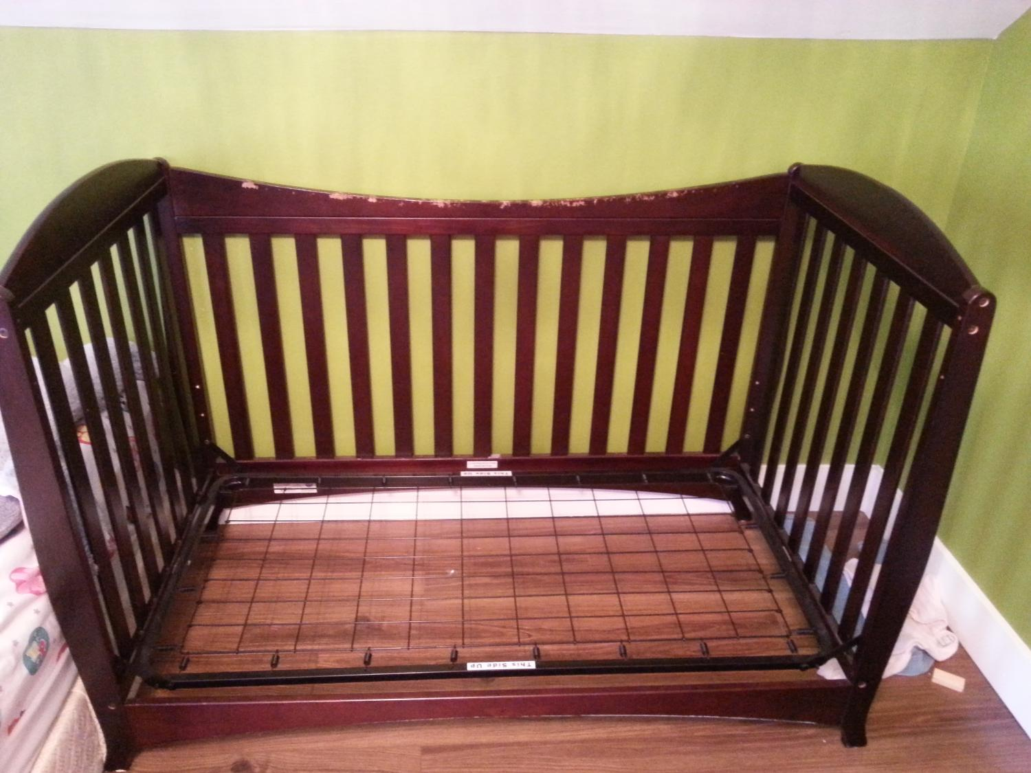 Best Espresso Baby Crib Price Drop For Sale In Meaford