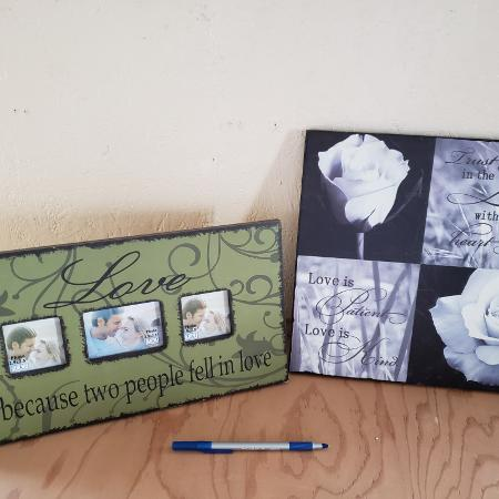 Used, Picture frame &wall hanging for sale  Canada