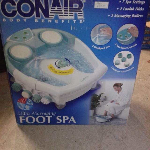 Best Conair Body Benefits Ultra Massaging Foot Spa for sale in ...