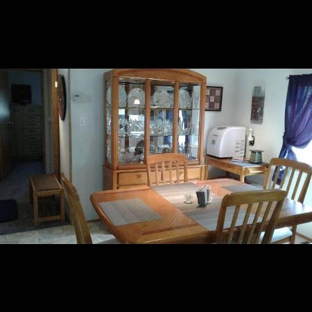 Solid Oak Dining Set for sale  Canada