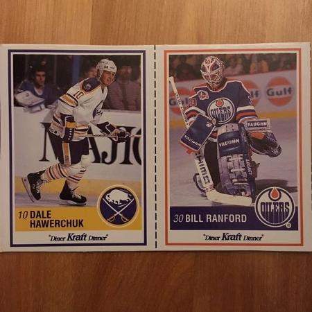 Used, 1990-91 #16 Dale Hawerchuk, #45 Bill... for sale  Canada