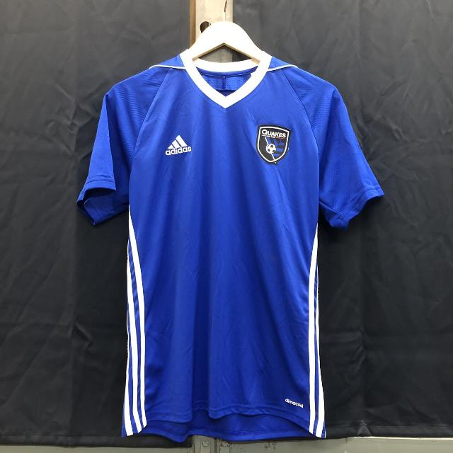 first rate e150c 1e374 Adidas San Jose Earthquakes Jersey (Size: M)