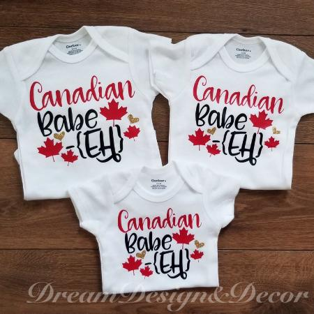Canadian babe onesies, used for sale  Canada