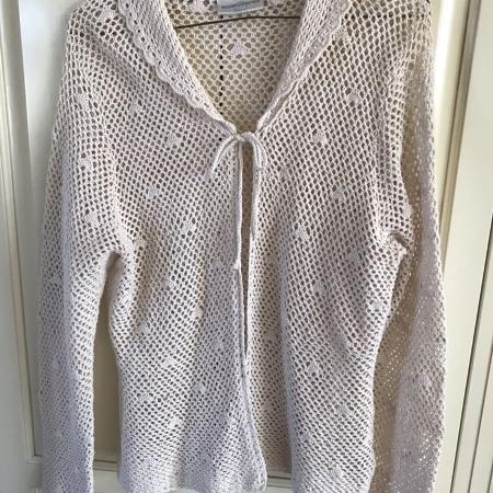 Ladies Crochet Cardigan, used for sale  Canada