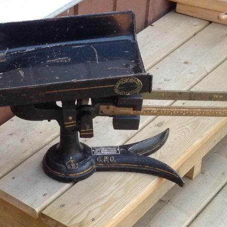 Vintage Fairbanks and Morse - 25 lb... for sale  Canada