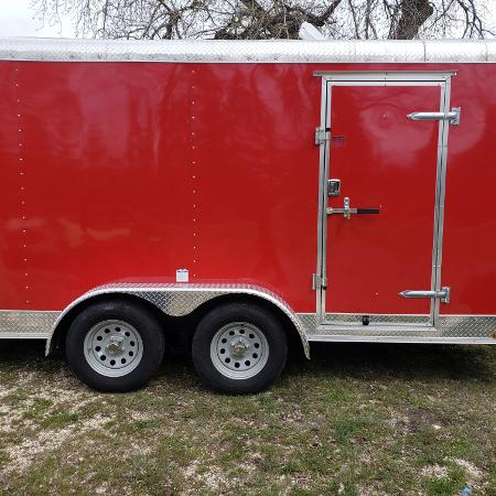 Brand new 2018 7x14 trailer.never... for sale  Canada