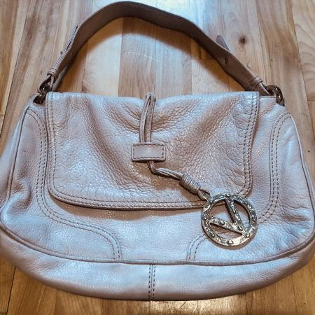 VALENTINO soft pink leather handbag /... for sale  Canada
