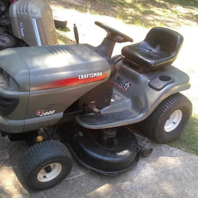 Best Lt2000 Craftsman Riding Mower For Sale In Griffin Georgia For 2020