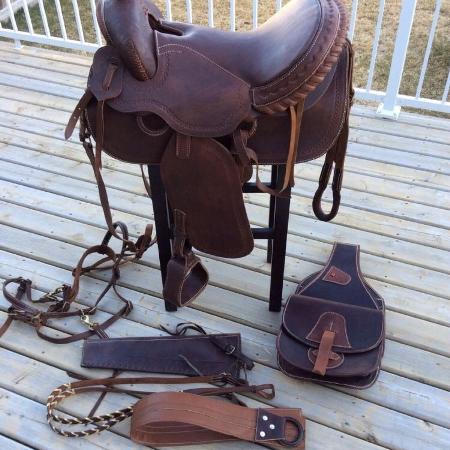 Western saddle and accessories for sale  Canada
