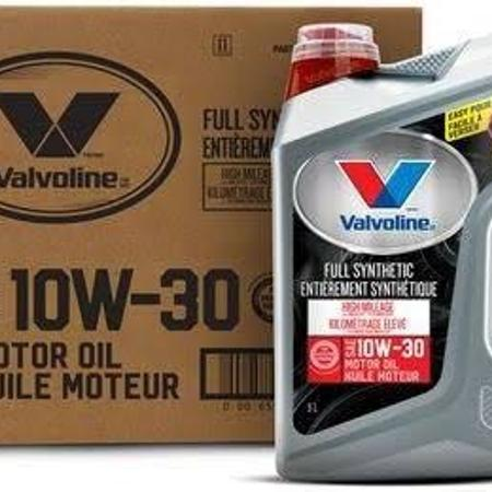 Used, 10w 30 motor oil valvoline high... for sale  Canada