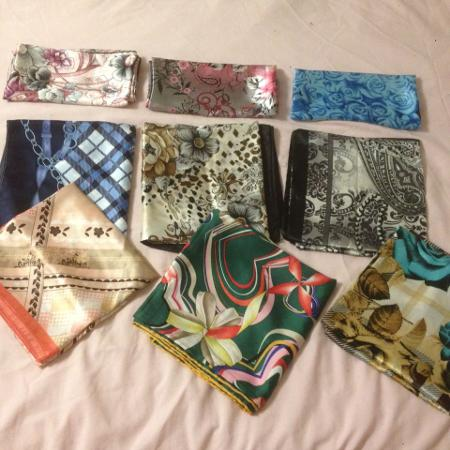 BrandNew Turkish square scarves, used for sale  Canada