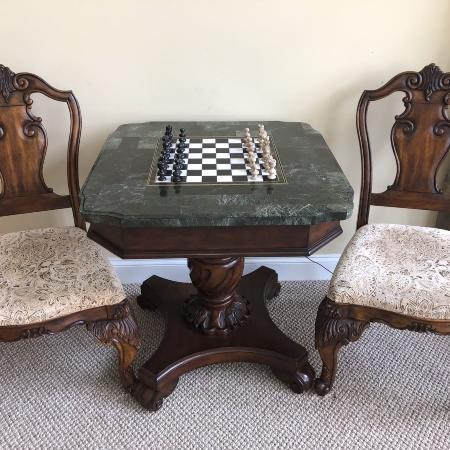 Pedestal Table With Chairs