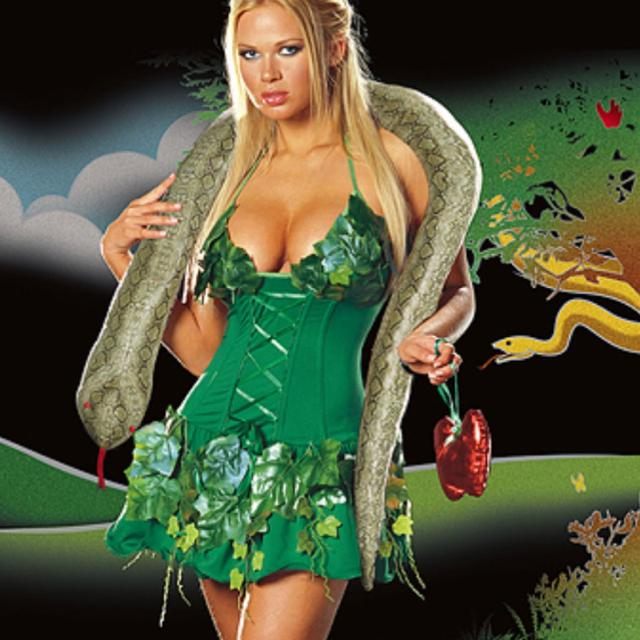 eve halloween costume size medium includes - Halloween Stores In San Antonio Texas