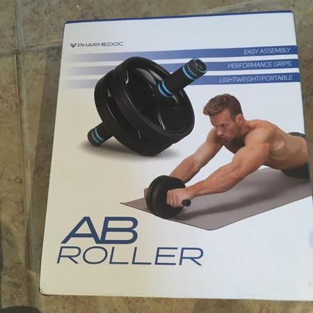 Used, Double wheel ab roller for sale  Canada