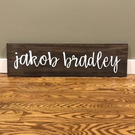 Baby name Nursery Sign for sale  Canada