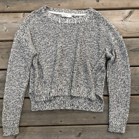 Cropped knitted sweater for sale  Canada