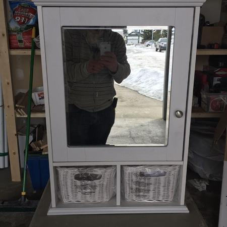 Used, Bathroom vanity/mirror combo for sale  Canada