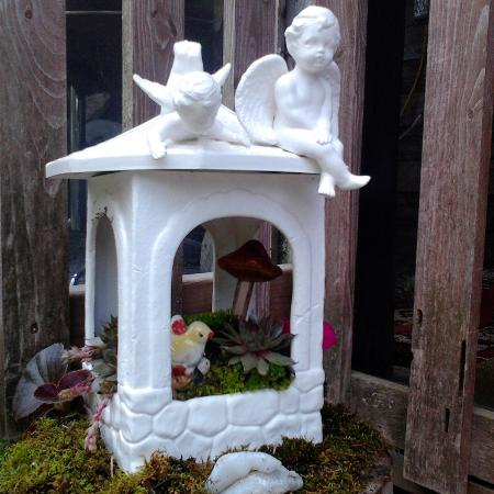 Used, ANGEL ON PAGODA +SUCCULENTS GARDEN... for sale  Canada