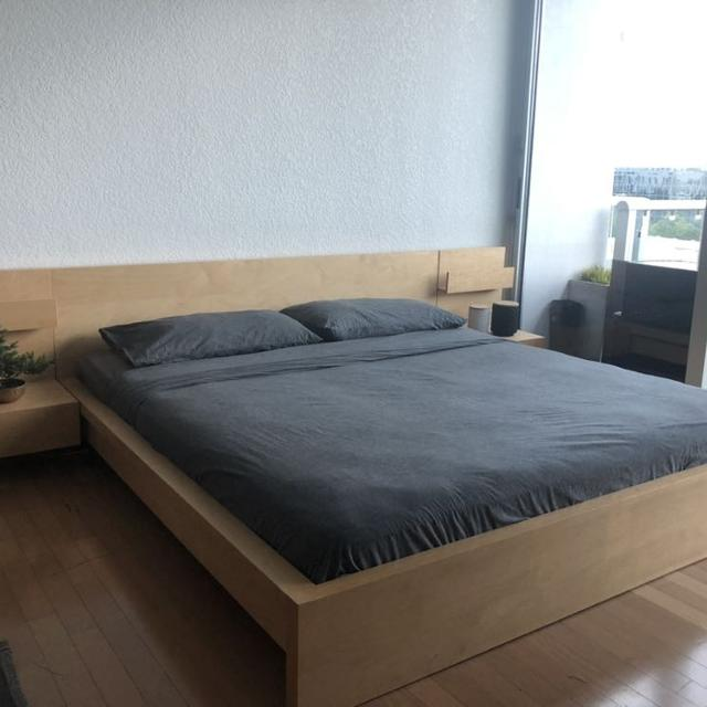 Best Discontinued Ikea King Malm Bed For Sale In Orlando Florida 2021