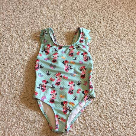 af32cbf377aac Adorable Minnie Mouse bathing suit size 5/6 from the Disney Store