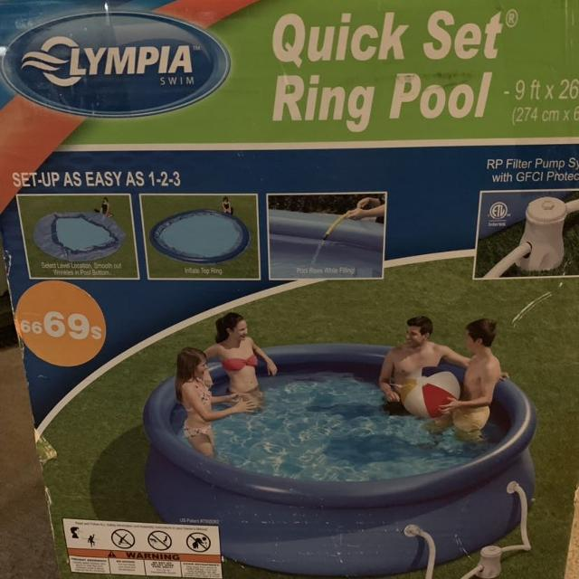 Olympia Quick Set Ring Pool