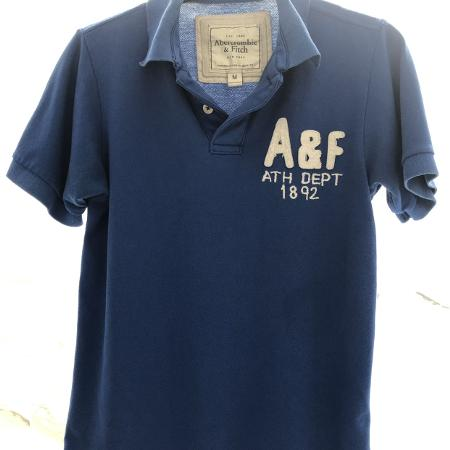 Abercrombie & Fitch royal blue polo, used for sale  Canada