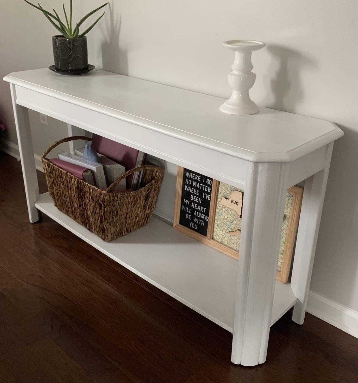 Find More White Painted Sofa Table For Sale At Up To 90