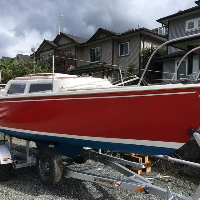 Catalina 22' with trailer
