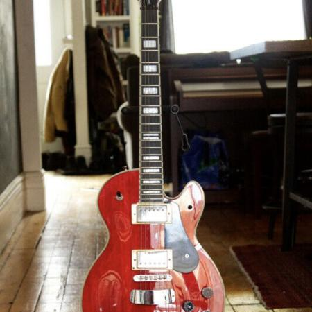 Used, 2008 Hagstrom Wild Cherry Guitar with... for sale  Canada